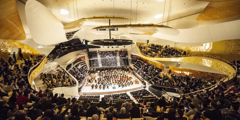 Philharmonie, grande salle